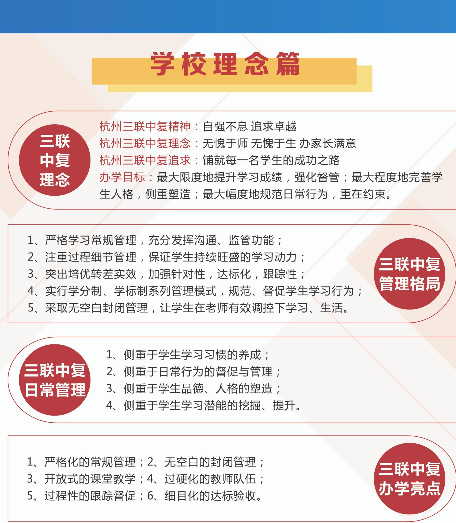 杭州中考复读